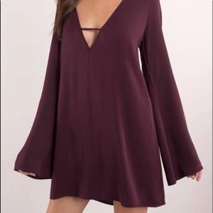 Used Tobi small maroon dress
